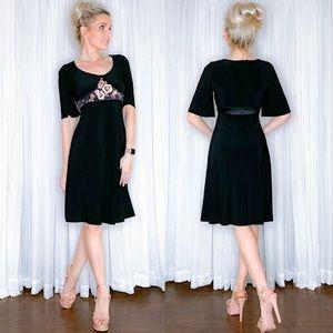 Nine West Black Slimming Dress